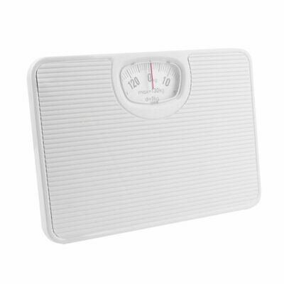 Accurate Mechanical Dial Bathroom Scales Weighing Scale Body Weight White 130Kg • 12.48£