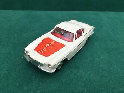 Corgi Toys 258 The Saint 1965-68 P1800 Volvo Original Red Bonnet Model Very Good • 27.99£