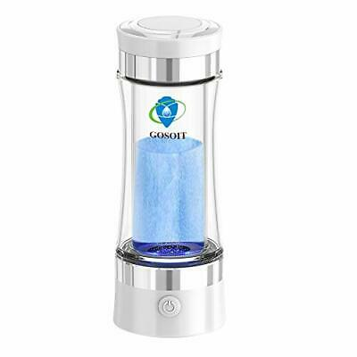 GOSOIT Hydrogen Alkaline Water Bottle Machine Maker Hydrogen Water Generator • 93.38£