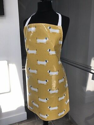 Adult/ladies Apron Cooking/craft Pvc Wipe Clean. Dogs Design. Ideal Gift • 8£