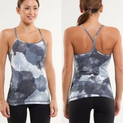 $ CDN2 • Buy Lululemon Power Y Tank Cloud Print Size 6