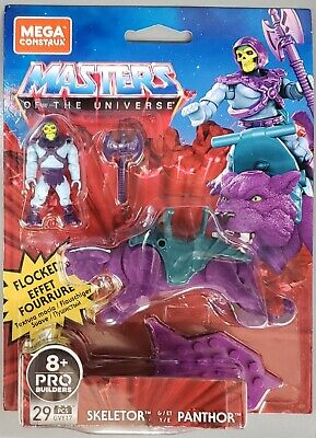 $29.99 • Buy Mega Construx Skeletor And Panthor MOTU Masters Of The Universe New Ships Fast