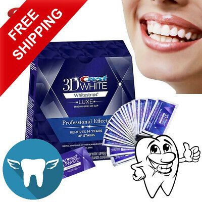 AU27.81 • Buy Professional 3d Whitening Strips For White Teeth Luxe Effects Whitestrips Crest