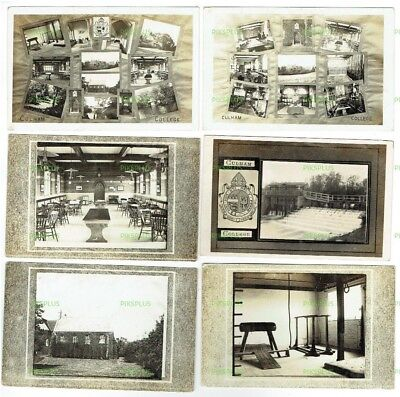 Old Postcards Culham College Near Abingdon Oxfordshire Real Photos Used 1914  • 14.99£