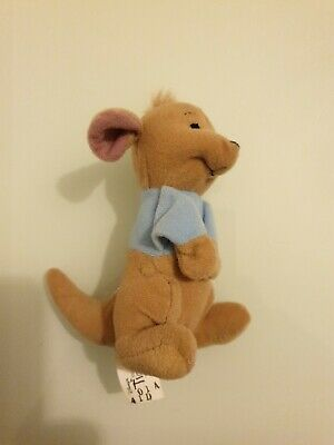 McDonalds Plush Toy From (Winnie The Pooh) The Tigger Movie - Roo 2000 • 1.10£