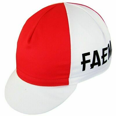 Faema Retro Vintage Summer Cycling Team Made In Italy Under Helmet Bike Cap • 3.99£