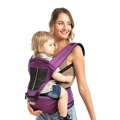 Portable Baby Carrier Hip Seat Lightweight Ergonomic Infant Sling Backpack Wrap • 18.53£