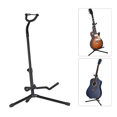 $ CDN44.73 • Buy Stable Guitar Floor Stand Musical Instrument Tripod Holder With Black Color Y6V1