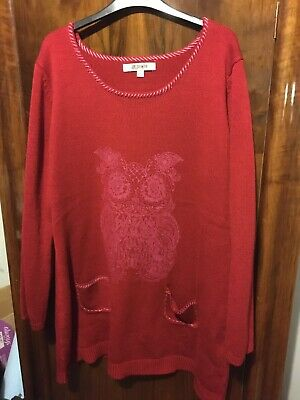 Joe Brown Owl Jumper • 2.90£