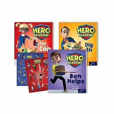 AU38.63 • Buy Hero Academy K-1 Parent Pack With Sticker Pack Volume 1 - Mixed Media Product NE