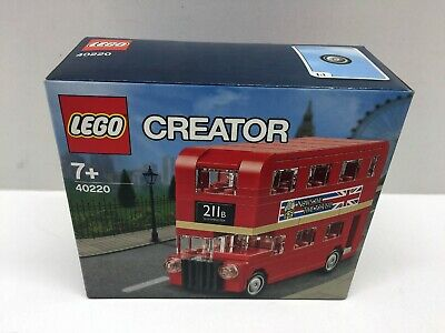 $ CDN15.30 • Buy LEGO Creator 40220 Mini Double Decker London Bus NEW MISB SEALED