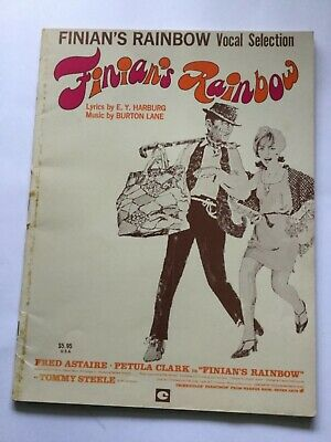 Finians Rainbow Vocal Selection Song Book- Petula Clark, Tommy Steele • 12.95£