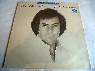 Neil Diamond ~ You Don't Bring Me Flowers ** 1978 Cbs Lp Half-speed Mastered • 3.20£