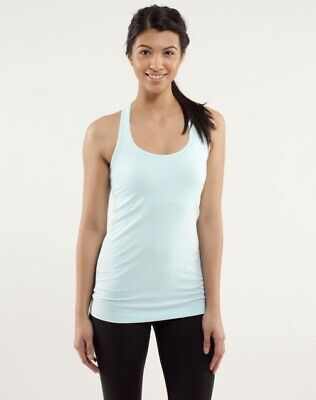 $ CDN57.40 • Buy Lululemon Cool Racerback Tank Top In Aquamarine Size 6? *Flaws