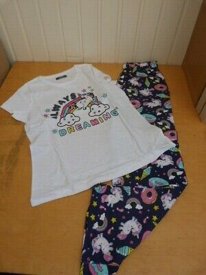 Brand New Girls/Young Ladies Funky Pyjamas ~ Sleeveless Top & Shorts Size Small • 3.10£