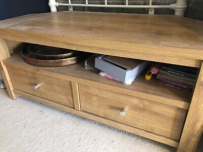 Oak Tv Corner Unit • 130£