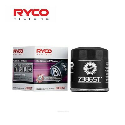 AU20.33 • Buy Ryco Synthetic Oil Filter (z386st)