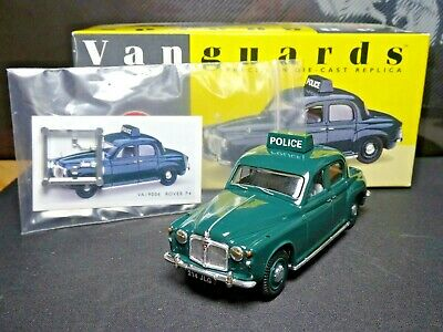 Wow Extremely Rare Early 1/43 Corgi Vanguards Rover P4 Cheshire Police Nla • 10.50£