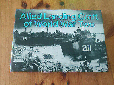ALLIED LANDING CRAFT OF WORLD WAR 2 Arms And Armour HB 1985 • 24.99£