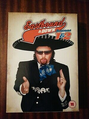 Eastbound And Down Season 1 & 2 DVD • 0.99£