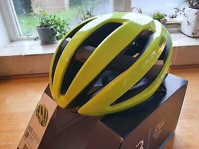 New BBB BHE 9 Maestro Pro Team Helmet Size L  58-62cm Yellow • 29.95£