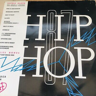 Hip Hop 87 Compilation Double Vinyl LP RECORD • 8.99£