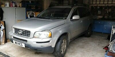 Volvo XC90 2.4TD D5 AUTO AWD 2010 SILVER DAMAGED REPAIRABLE SALVAGE • 1,350£