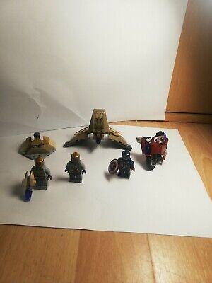 LEGO Marvel Super Heroes Captain Americas Avenging Cycle 6865  100% Complete • 8.90£