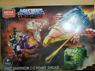 $34 • Buy Mega Construx Masters Of The Universe - Skeletor Panthor At Point Dread Set