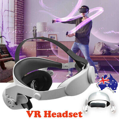 AU48.56 • Buy Adjustable Halo Strap For Oculus Quest 2 Vr Increase Supporting Forcesupp