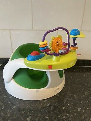Bumbo Mamas And Papas Snug Seat  Floor Seat With Activity Play Food Tray • 16£