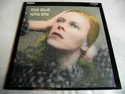 DAVID BOWIE ~ HUNKY DORY ** 1971 UK RCA LP W/ INSERT. • 28£