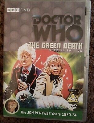 Doctor Who - The Green Death Special Edition (DVD, 2012) • 3.05£