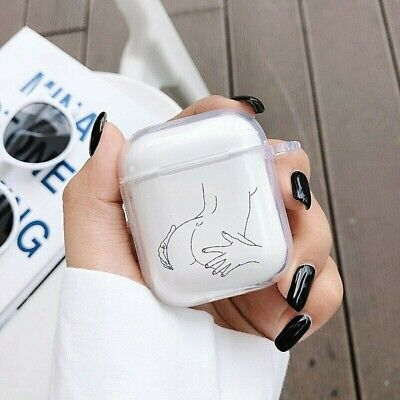 $ CDN15.20 • Buy Apple Airpods Case Protective Cover Funny Sexy LoveArtCute LuxuryAirpod2|1
