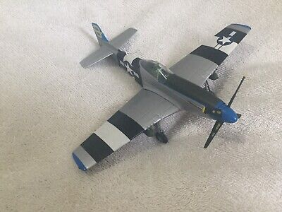 Franklin Mint Armour 1/48 P51 Mustang Die-cast Model Aircraft • 40£