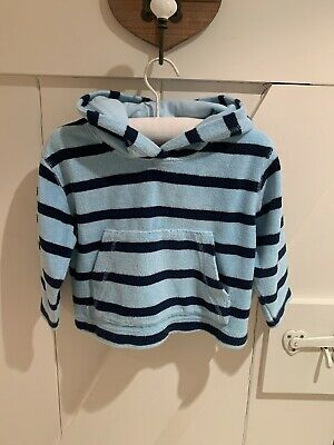 Mini Boden Towelling Hoodie Age 18-24 Months • 5£