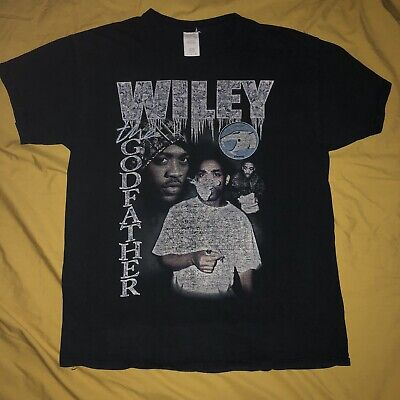 """£15 • Buy Unisex Wiley T Shirt """"The Godfather"""" Original Vintage Style Size Large Fits S"""