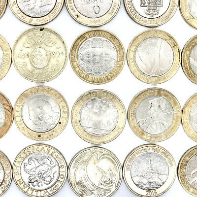 Cheapest £2 Coins Two Pound Rare Commonwealth Olympic Territories (circulated) • 4.89£