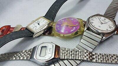 $ CDN24 • Buy Lot Of Watches Swatch ,seiko,anker,,,