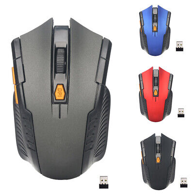 AU9.99 • Buy Wireless Optical Mouse Gaming Mice + USB Receiver 2.4GHz For PC Laptop Computer