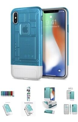 AU29.99 • Buy SPIGEN Dual Layer Air Cushion Classic C1 Limited Edition For IPhone X Case