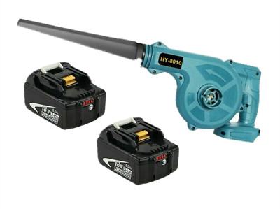 AU131.99 • Buy 2x For Makita 18V 6A Li-ion Battery+2 In 1 Cordless Leaf Dust Blower Vacuum Tool