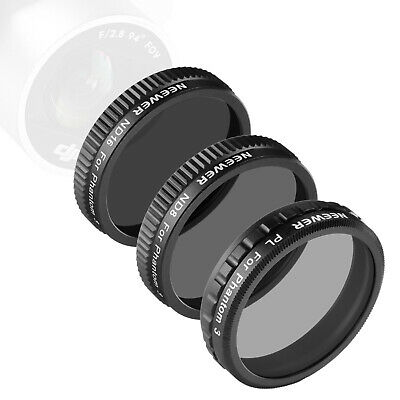 AU8.99 • Buy Neewer 3-Pack Filter Set For DJI Phantom 3 Professional And Advanced