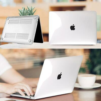 For Apple MacBook Air 11 PRO 13/15/16 12  Cystal Clear Laptop Shell Case Cover • 7.99£