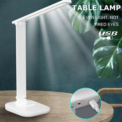 AU14.99 • Buy Touch LED Desk Lamp Bedside Study Reading Table Light USB Ports Dimmable AU