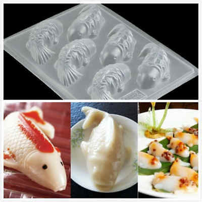 £4.51 • Buy 3D Carp Fish Cake Chocolate Mould For Jelly Sugarcraft Rice Cake Baking Tools JE