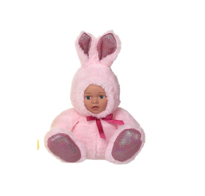 New Easter Doll In Bunny Outfit Soft Plush Toy • 12.99£