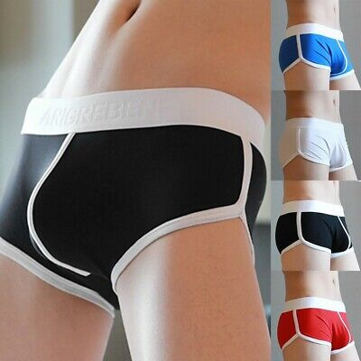 Loose Fit Boxer Briefs Homewear Underwear Low Rise Rich Funky Sexy Shorts • 6.18£