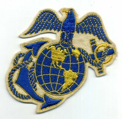 $9.95 • Buy WW2 USMC Eagle Globe Anchor EGA WOOL FELT Souvenir POCKET PATCH