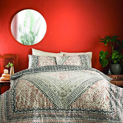 Jeff Banks Duvet Bed Set Berba Mid Eastern Ports Of Call Including 2 Pillowcases • 24.99£